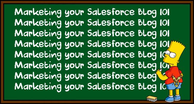 MVP Special – Marketing your Salesforce Blog