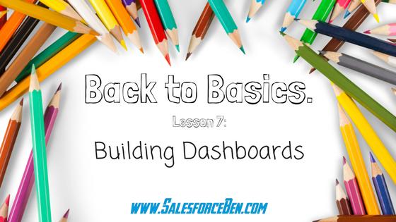 Back to Basics: Building Dashboards