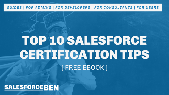 Free eBook – Top 10 Salesforce Certification Tips