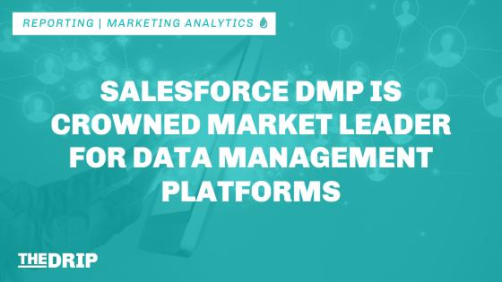 Salesforce DMP is Crowned Market Leader for Data Management Platforms