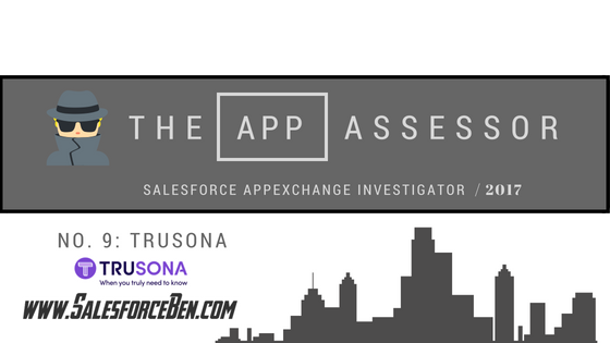 The AppAssessor #9: Trusona In-Depth Review
