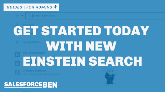 Get Started Today with New Einstein Search