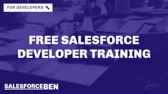 Free Salesforce Developer Live Training Course