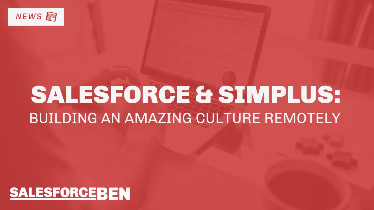 Salesforce & Simplus: Building an Amazing Culture Remotely [WEBINAR]