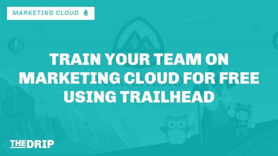 Train Your Team on Salesforce Marketing Cloud for Free Using Trailhead