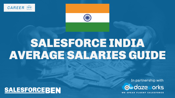Salesforce India Average Salaries Guide 2020