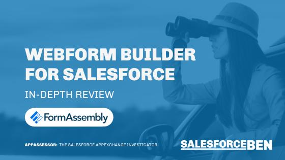 Webform Builder for Salesforce [In-Depth Review]