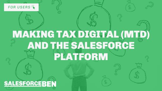 Making Tax Digital (MTD) and The Salesforce Platform
