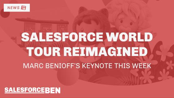 Salesforce World Tour Reimagined: Marc Benioff's Keynote This Week